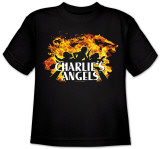 Toddler: Charlie's Angels-Fire T-shirts