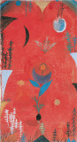 Flower Myth, 1918 Kunst von Paul Klee
