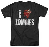 "I ""Bloody Heart"" Zombies T-Shirt"