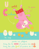 Un Petit Cochon Posters by Isabelle Jacque