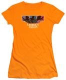 Juniors: Charlie's Angels-Tri-Color Angels Shirts
