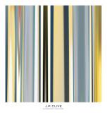 Glissando Square I Poster by J.P. Clive