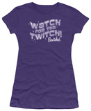Juniors: Bewitched - Watch for the Twitch T-shirts