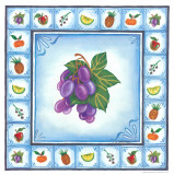 Blue Fruits II Posters by Urpina 
