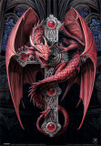 Anne Stokes- Dragon Poster