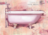Bath Collage IV Prints by Cano 