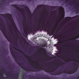 Purple Passion I Art by Kaye Lake