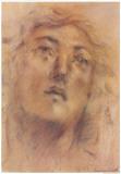 Antique Portrait III Prints by Lewman Zaid