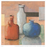 Blue Vase I Posters by  Ranz