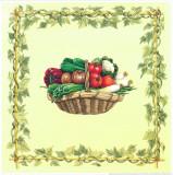 Basket Of Vegetables I Prints by  Urpina
