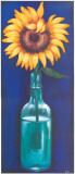 Bottled Flowers I Poster by  Ferrer