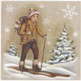 Randonnée À Ski Posters by Stéphanie Holbert