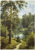 Slowly River II Prints by Igor Priscepa