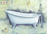 Bath Collage I Print by Cano 
