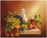 Still Life With Fruits II Prints by  Fasani