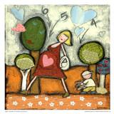 Maternité 4-5-6 Prints by Marie-Josée Latouche