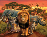 African Kingdom Posters