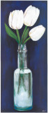 Bottled Flowers III Print by  Ferrer