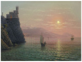 Yalta Sunset Print by A. Gorjacev