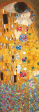 El beso - Tinta metálica  Arte por Gustav Klimt