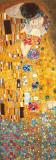 Il bacio, inchiostro metallico dorato Arte di Gustav Klimt