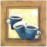 Cups Of Coffee III Art by  Urpina