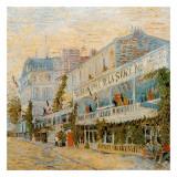Le Restaurant De La Sirène A Asnieres Prints by Vincent van Gogh