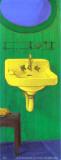 Vintage Bathroom Sink I Plakater af  Conde