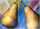 Trendy Pears II Prints by  Manso