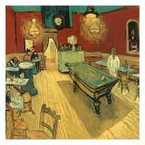 Le Café De Nuit, Place Lamartine Posters by Vincent van Gogh
