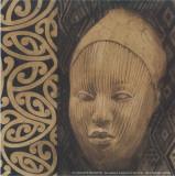 Indio Cabeza IV Print by  Cano