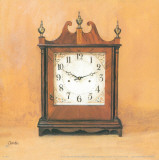 Antique Clock I Print by  Conde