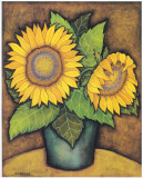 Sunflowers II Poster by  Urpina