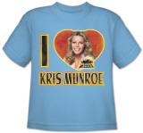 Toddler: Charlie's Angels-I Love Kris Shirt