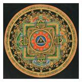 OM I Print by Tibetan Monk