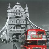 Autobús rojo de Londres Póster
