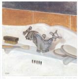 Bathroom I Prints by  Conde