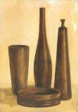 Brown Pots II Poster