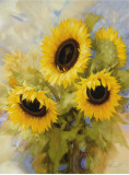 Sunflower Dreams Poster by Igor Levashov