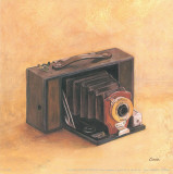 Antique Camera Poster by Conde