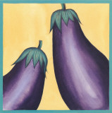 Eggplants Prints by  Urpina
