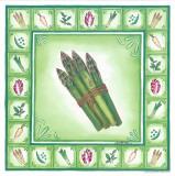Green Veggies IV Art by  Urpina