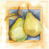 2 Pears Print by  Urpina