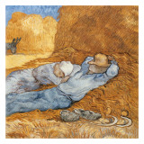 La Méridienne (La Sieste) Prints by Vincent van Gogh