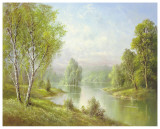 Silent Waters Posters af Helmut Glassl