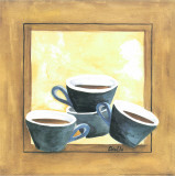 Cups Of Coffee IV Posters by Urpina 