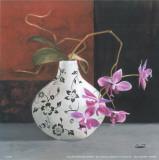 Cano - Jarrones Con Flores Malva I Plakát