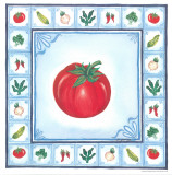 Blue Veggies II Prints by Urpina 