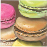 5 Macarons Posters by Béatrice Hallier