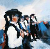Les Hommes De Lampaul Print by Maryvonne Jeanne-Garrault